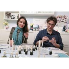 法式高級香水創作坊 - 私人教授  二人課程 (備有禮券以供選購)